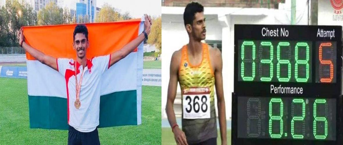 Murali Sreeshankar qualifies for Tokyo Olympics, sets national record in long-jump